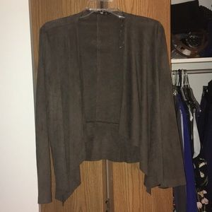 Zara Basic Suede Jacket from France(!)